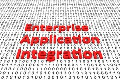 Enterprise application integration Stock Image
