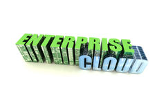 Enterprise Cloud Stock Photography