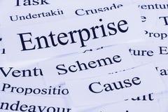 Enterprise Concept Stock Photo