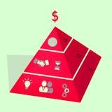 Enterprise Concept. An useful enterprise concept vector Royalty Free Stock Photos