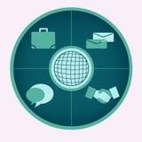 Enterprise Concept. An useful enterprise concept vector Stock Photo