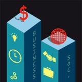 Enterprise Concept. An useful enterprise concept vector Stock Images