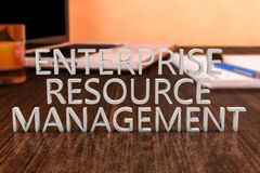 Enterprise Resource Management Stock Photo