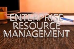 Enterprise Resource Management Stock Photo