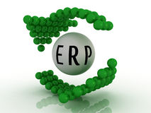 Enterprise Resource Planning. Abstract illustration of Enterprise Resource Planning Stock Photos
