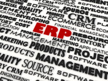 Enterprise Resource Planning. 3d image of Enterprise Resource Planning Stock Photos