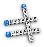 Enterprise resource planning Royalty Free Stock Images