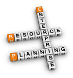 Enterprise resource planning Royalty Free Stock Photo
