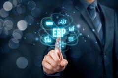 Enterprise resource planning ERP Stock Image