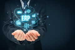 Enterprise resource planning ERP Royalty Free Stock Photos