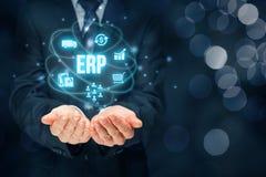Enterprise resource planning ERP Royalty Free Stock Image