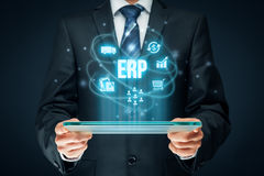 Enterprise resource planning ERP Royalty Free Stock Images