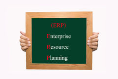 Enterprise resource planning (ERP) Stock Images