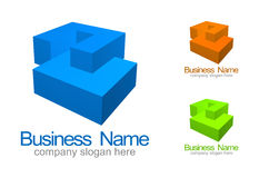 Enterprise vector logo Royalty Free Stock Images