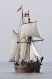 ENTERPRIZE - 3 Masted skonare Royaltyfri Foto