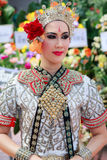 Enterrement thaïlandais de danse Photographie stock libre de droits