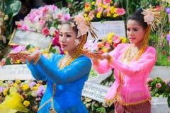 Enterrement thaïlandais de danse Image libre de droits