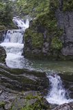Enterrottach waterfall Royalty Free Stock Images