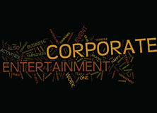 Entertain Your Staff For Larger Profits Text Background Word Cloud Concept stock illustration