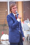 Entertainer, ready for anything - distinguished and popular actor Michael Smiley. Royalty Free Stock Photo