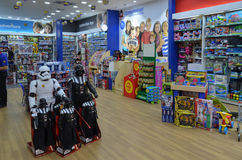The Entertainer Toys Shop, Lahore Pakistan. The Entertainer Toys Shop, Emporium Mall, Lahore Pakistan on 6th May 2017 Stock Images