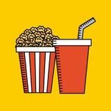 Entertaining movie Stock Photo
