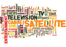 Entertainment Ala Satellite Tv Text Background  Word Cloud Concept. ENTERTAINMENT ALA SATELLITE TV Text Background Word Cloud Concept Stock Images