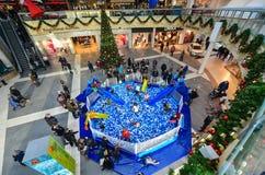 Entertainment area in shopping mall Mega Stock Photos