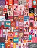Entertainment Art Collage Royalty Free Stock Photo