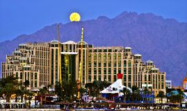 Entertainment center in Eilat, Israel Royalty Free Stock Photos