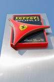 Entertainment center Ferrari World in Abu Dhabi Royalty Free Stock Photography