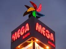 Entertainment center MEGA Royalty Free Stock Photos