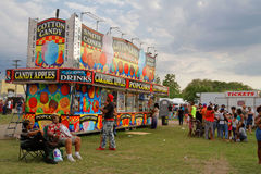Entertainment at Crawfish Festival Stock Images