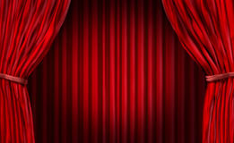 Entertainment Curtains Royalty Free Stock Image