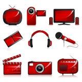 Entertainment Icon Royalty Free Stock Photography