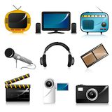 Entertainment Icon Royalty Free Stock Photo