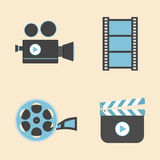 Entertainment icon Royalty Free Stock Photography