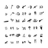 Entertainment icons sketch for your design Royalty Free Stock Images