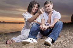 Entertainment of love Royalty Free Stock Images