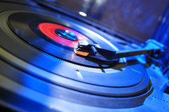 Entertainment - Record Player Royalty Free Stock Images