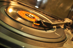 Entertainment - Record Player Royalty Free Stock Photography