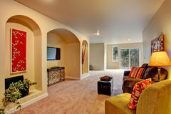 Entertainment room interior Royalty Free Stock Image
