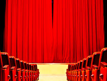 Entertainment. In the theater or cinema entertainment assured Royalty Free Stock Photos