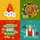 Entertainments At Casino Concept Stock Photography