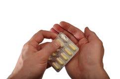 Entfernen von Medizin Lizenzfreie Stockfotos