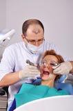 Entfernt Zahn stockbild