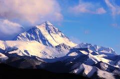 Entfernte Ansicht des Everest Stockfoto