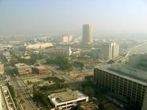 Entfernte Ansicht von L A Verbands-Station, Los Angeles, Kalifornien, USA lizenzfreie stockbilder