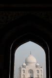 Entfernte Ansicht von Taj Mahal Lizenzfreie Stockbilder