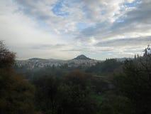 Entferntes Athen, Griechenland lizenzfreies stockfoto